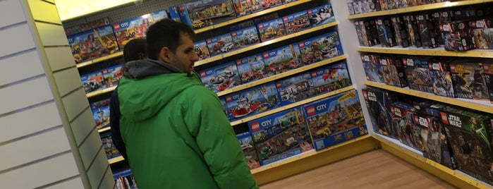 """Toys""""R""""Us is one of J's Liked Places."""