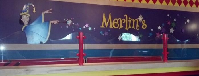 Merlin's - Dutch Wonderland is one of places we like.