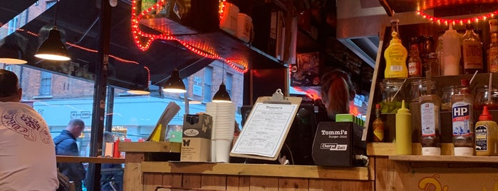 Tommi's Burger Joint is one of London.
