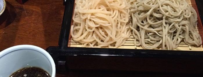 手打ちそば屋 かんだた is one of Posti salvati di Hideki.