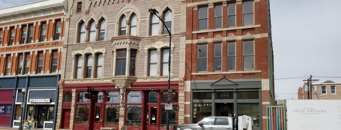 Downtown Historic District is one of Cheyenne.