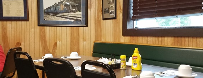 Great Northern Cafe is one of Northwoods Smorgasbord..