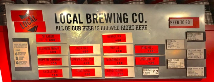 Local Brewing Co. is one of Beer 47 Craft Beer Guide to SF.
