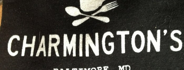 Charmington's is one of Baltimore's Best Coffee - 2013.