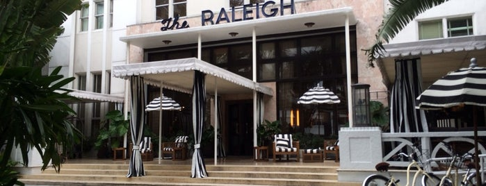 The Raleigh Hotel is one of Nightlife | Miami Music Week 2014.