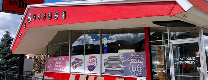 Goldie's Rt. 66 Diner is one of Route 66 Roadtrip.