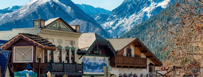 Leavenworth is one of Cozy Winter in PNW.
