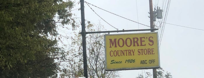 Moore's Country Store is one of Virginia.