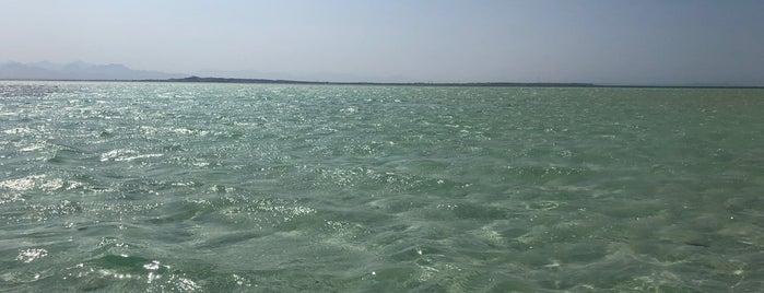 Orange Bay is one of El Gouna.