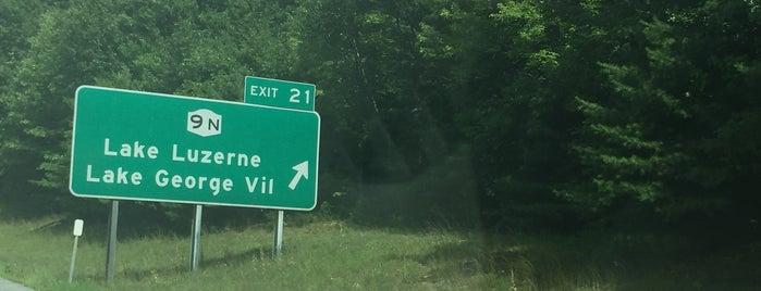 Northway I-87 Exit 21 is one of สถานที่ที่ Nicholas ถูกใจ.