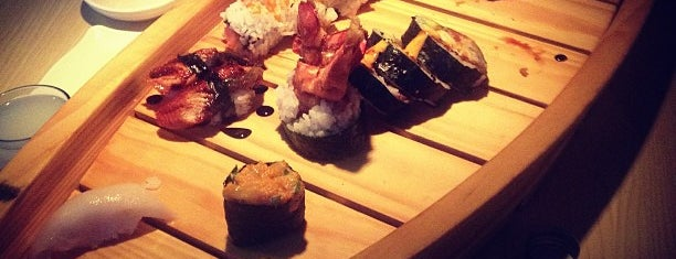 Kampai Sushi Bar is one of STL Restaurants to Try.