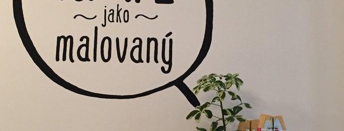 KAFE jako malovaný is one of cafe.