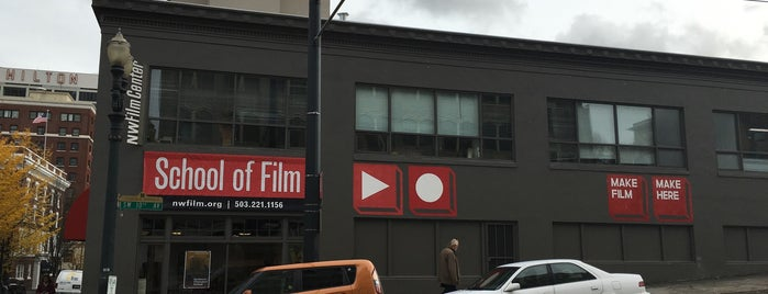NW Film Center is one of Best Places to see Indie Films.