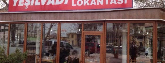 Yeşil Vadi Et Lokantası is one of Malatya.