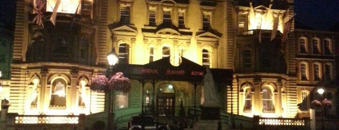 Bristol Marriott Royal Hotel is one of Tempat yang Disukai Nancy.