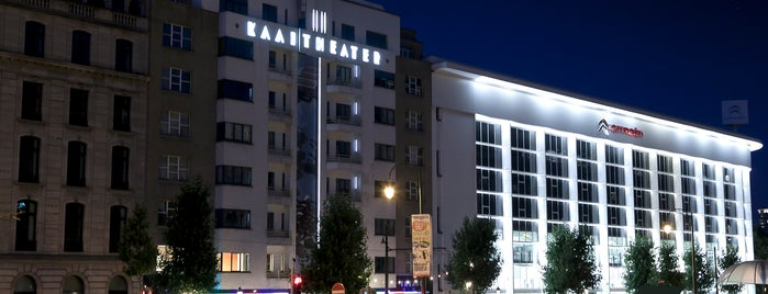 Kaaitheater is one of Bruxells.