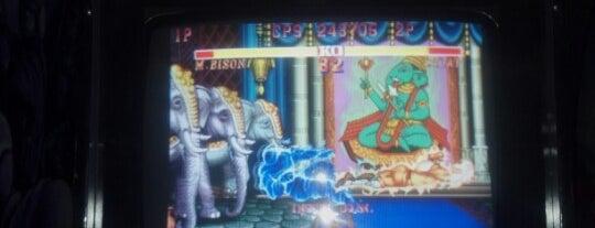 Two-Bit's Retro Arcade is one of Shotski/burger day.