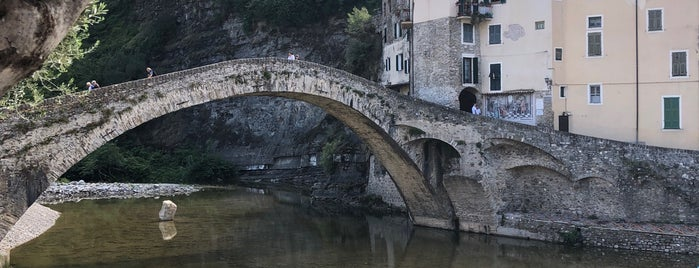 Ponte Vecchio di Dolceacqua is one of Tempat yang Disukai Michele.