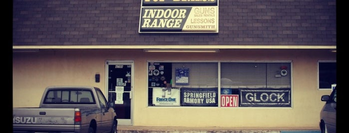 Top Brass Indoor Range is one of West Tennessee Gun Stores and Ranges.