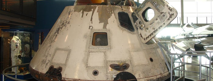 Frontiers of Flight Museum is one of From the Earth to the Moon, Apollo CSM's.