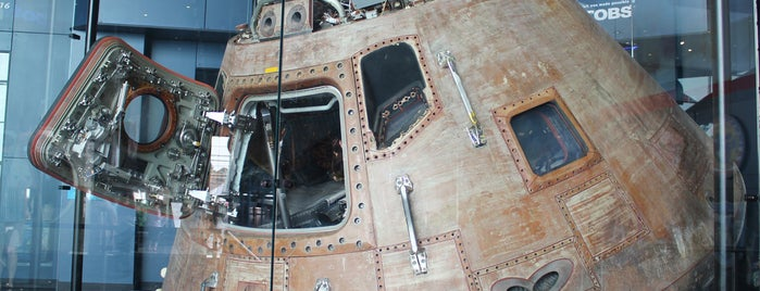 Davidson Center for Space Exploration is one of From the Earth to the Moon, Apollo CSM's.
