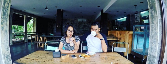 Anomali Coffee is one of Bali.