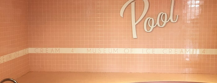 Museum Of Ice Cream is one of Gespeicherte Orte von Nikkia J.