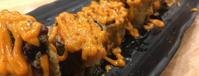 Dragon Sushi is one of KKU food.