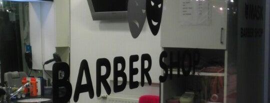 Mask Barber Shop is one of สถานที่ที่ Ahmet ถูกใจ.