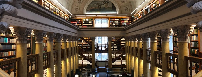 The National Library Of Finland is one of Helsinki.