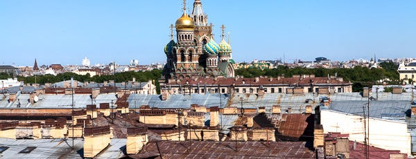 Bellevue Brasserie is one of Лучшие панорамные рестораны Петербурга.