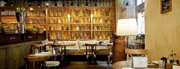 Настоящие итальянские рестораны.