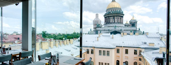 Лучшие панорамные рестораны Петербурга