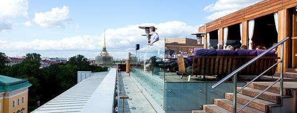 Wine Terrace is one of Лучшие панорамные рестораны Петербурга.