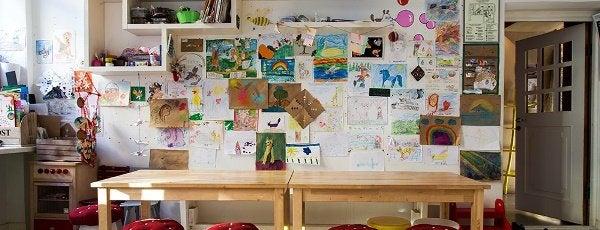 Лучшие детские комнаты в ресторанах.