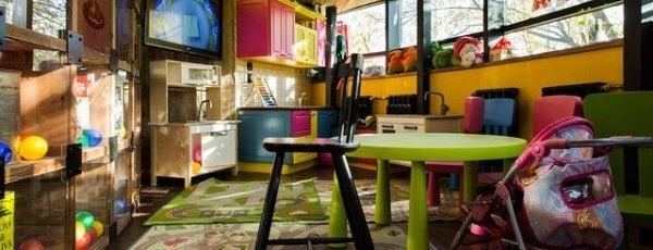 Марчеллис is one of Лучшие детские комнаты в ресторанах..