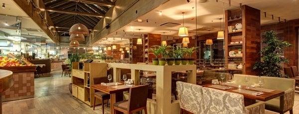 Terrassa is one of Настоящие итальянские рестораны..