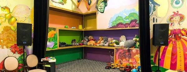 Новая Ялта is one of Лучшие детские комнаты в ресторанах..