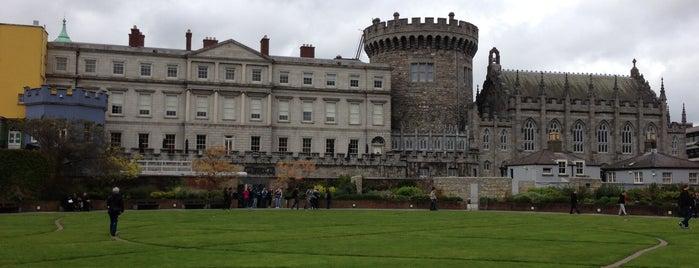 The Dubhlinn Gardens is one of Dublin, Ireland.