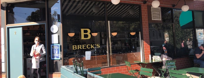 Breck's is one of SF group dinner.