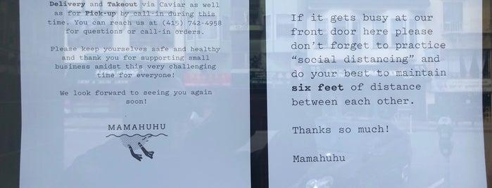 Mamahuhu is one of Do: San Francisco ☑️.