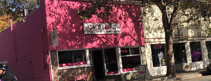 Cafe Lotus is one of Marin County's Best.
