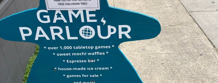 The Game Parlour is one of To Try.