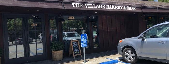 The Village Bakery is one of Locais curtidos por Oren.