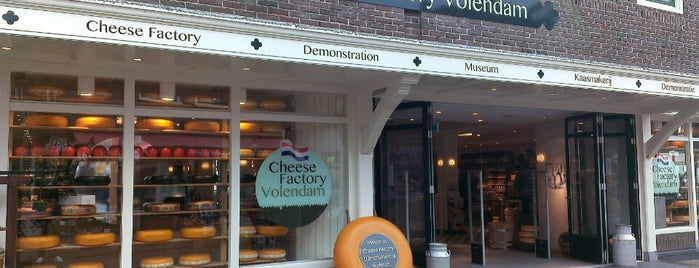 Cheese Factory Volendam is one of Amsterdam & Belgium.