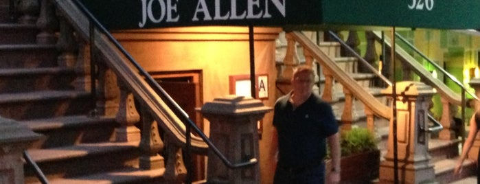 Joe Allen is one of To-do Restos.