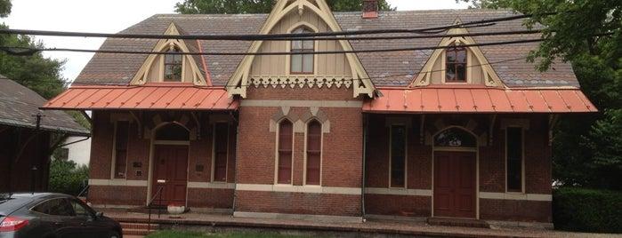 Rockville Railroad Station is one of สถานที่ที่บันทึกไว้ของ Ms..