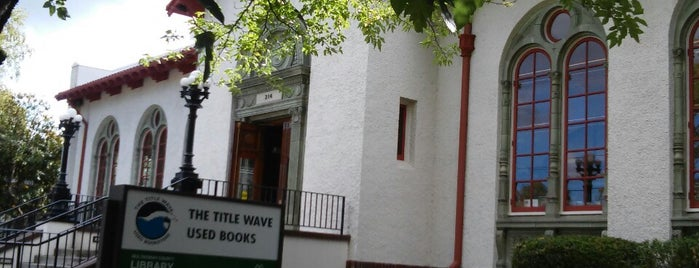 Title Wave Used Bookstore is one of Tempat yang Disimpan Teresa.