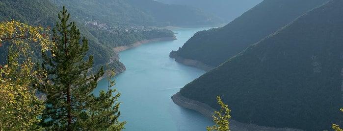 Pivsko jezero is one of Montenegro.