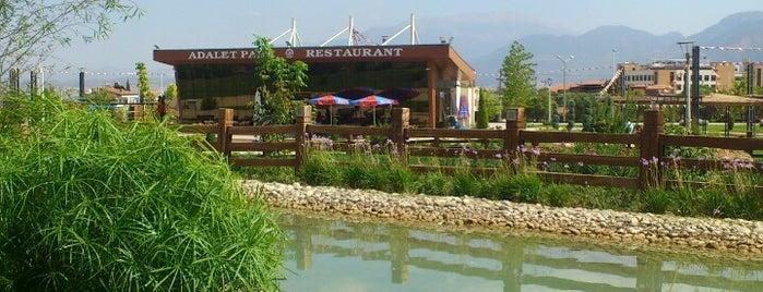 Adalet Parkı is one of Orte, die Ela gefallen.